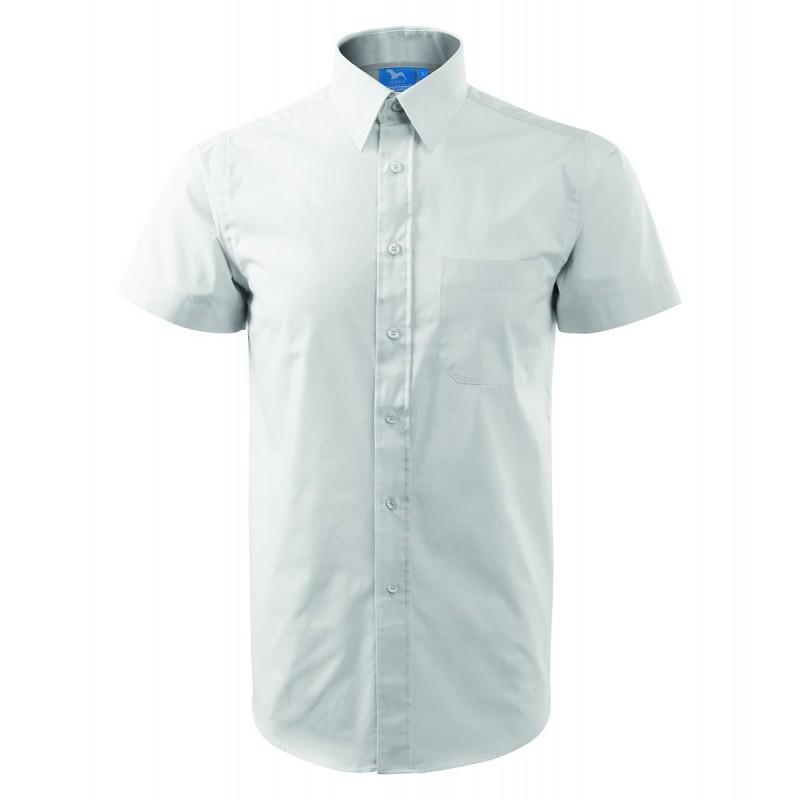90fc7fc9efa0 ... Pánska čašnícka košeľa s krátkym rukávom - biela ...