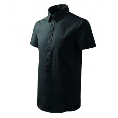 Pánska čašnícka košeľa s krátkym rukávom - biela