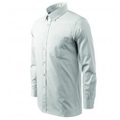Pánska čašnícka košeľa s dlhým rukávom, biela