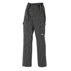 Kuchárske nohavice s bočnými vreckami America, Egochef