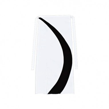 Čašnícka bistro zástera Acerra 100x100cm, CG Workwear