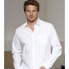 Pánska čašnícka košeľa Capri Man dlhý rukáv - biela, CG Workwear