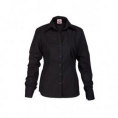 Dámska čašnícka blúzka Modica Lady dlhý rukáv - čierna, CG Workwear