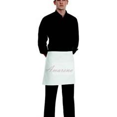 Čašnícka bistro zástera s vreckom vpredu, 40x70cm, 100% bavlna - Egochef