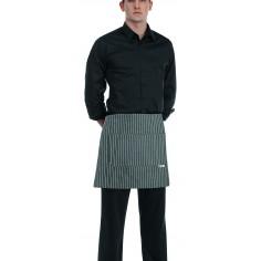 Čašnícka bistro zástera s vreckom vpredu, 40x70cm, 65%polyester 35%bavlna - Egochef