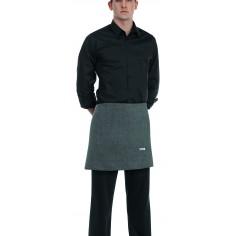 Čašnícka bistro zástera s vreckom vpredu, 40x70cm, 65%polyester 35% bavlna - Egochef