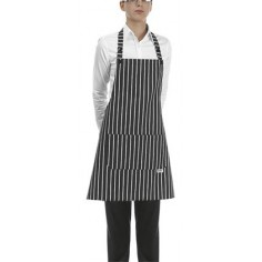 Čašnícka a kuchárska zástera America okolo krku, 70x70cm - Egochef