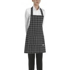 Čašnícka a kuchárska zástera Square okolo krku, 70x70cm - Egochef