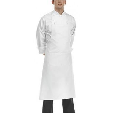 Čašnícka a kuchárska zástera okolo krku, 90x70cm, 100% bavlna, Egochef