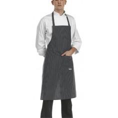 Kuchárska a čašnícka zástera okolo krku Sir, 90x70cm, Egochef