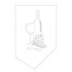Manžeta na fľašu vína 100x65mm, 9vrstvový papier, Mank