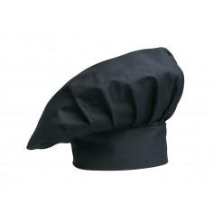 Kuchárska čiapka Black, čierna - Egochef