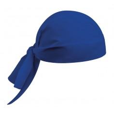 Kuchárska šatka na hlavu, modrá, jednofarebná, Egochef