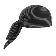 Kuchárska šatka na hlavu, vzorovaná Egochef