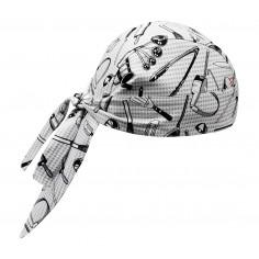 Kuchárska šatka na hlavu Chefwear, vzorovaná, Egochef