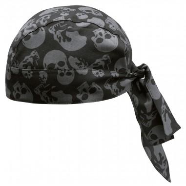 Kuchárska šatka na hlavu Skulls, vzorovaná, Egochef