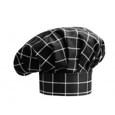 Kuchárska čiapka Square, vzorovaná - Egochef