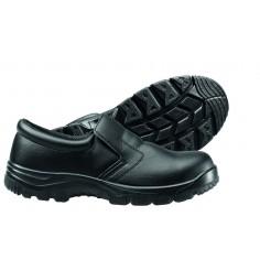 Pracovná obuv pre kuchárov uzavretá, čierna