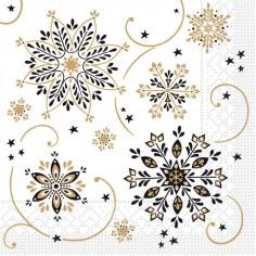 Vianočné servítky Konstantin papierové, 40x40cm - Mank