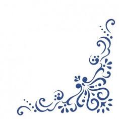 Servítky z netkanej textílie Airlaid, Mila, 40x40cm, modré, Mank