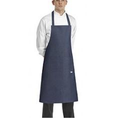 Kuchárska zástera 90x70cm s vreckom, okolo krku, Egochef