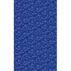 Obrus Gala, potiahnutý fóliou, umývateľný, modrý, 80x80cm - Mank