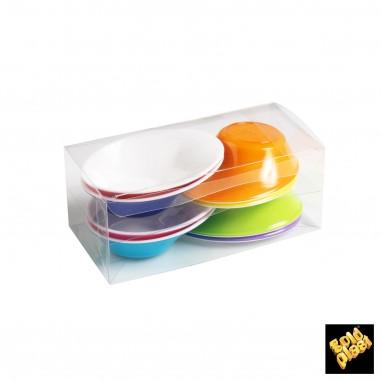 Plastová miska Sodo Bicolor na Finger Food 50ml - farebný mix