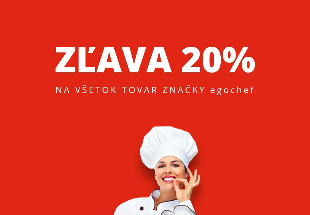 Zľava 20% na kuchárske oblečenie