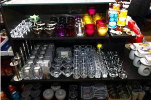 Amarena showroom - predajňa, sviečky