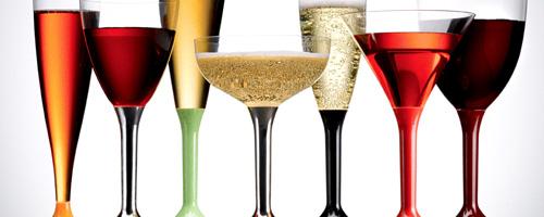 plastové poháre na víno a sekt