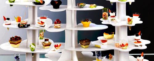 Katalóg Plastové stojany na fingerfood misky a nádobky